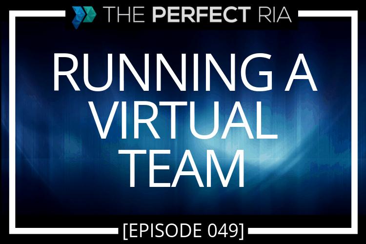 Running a Virtual Team