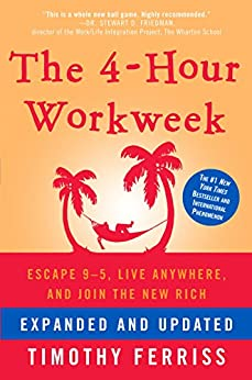 the four hour work week book cover and amazon link